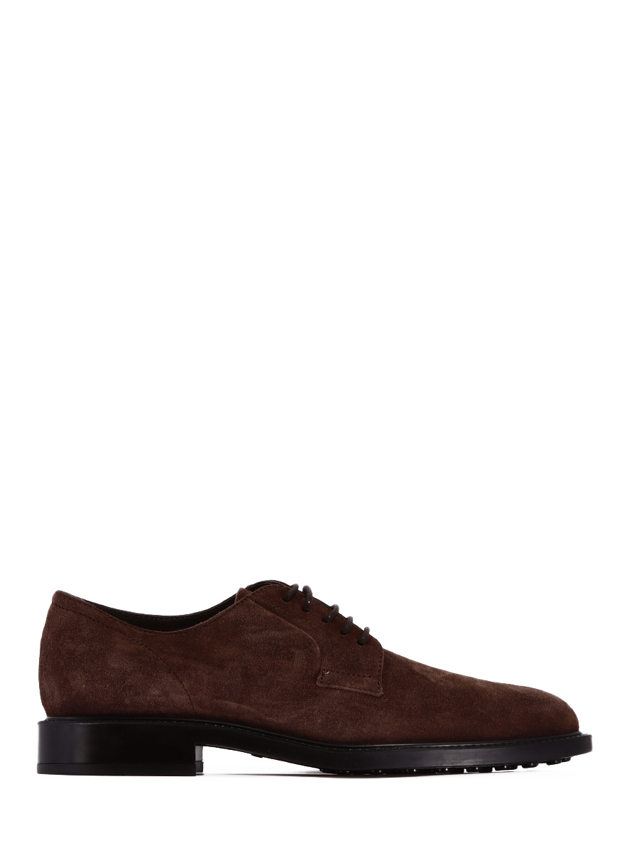 Laced in Brown Suede