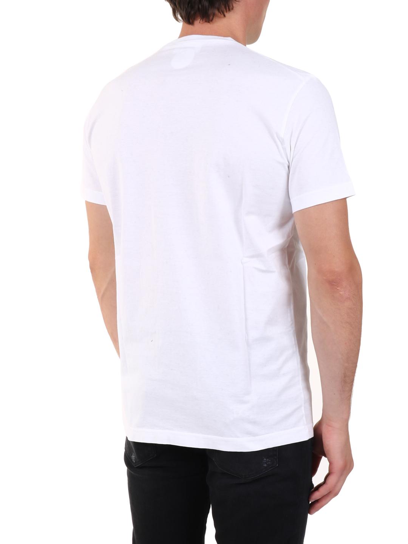 DSQUARED2 Cottons T-SHIRT LOGO WHITE