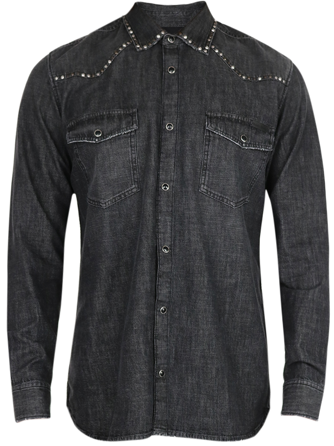 Golden Goose WESTERN SHIRT WITH STUDS