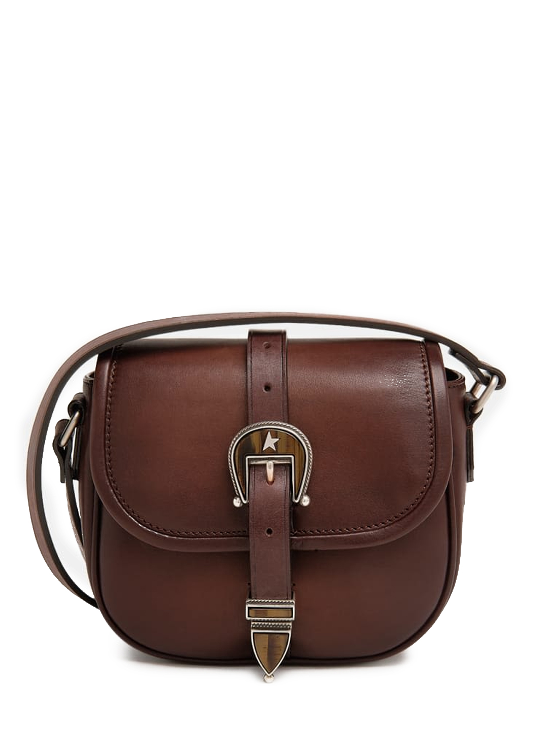 Golden Goose RODEO BAG BROWN LEATHER