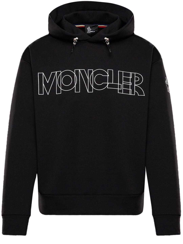 Moncler Grenoble Hoodies APRÈS SKI SWEATSHIRT BLACK