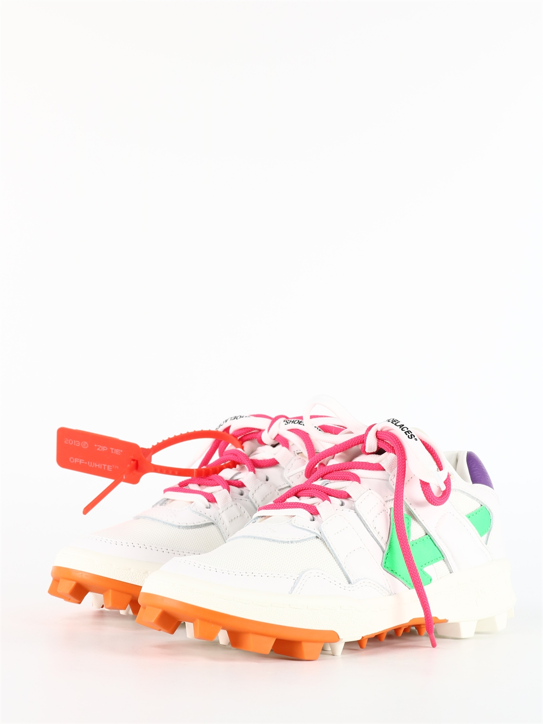 OFF-WHITE Leathers SNEAKERS MOUNTAIN CLEATS