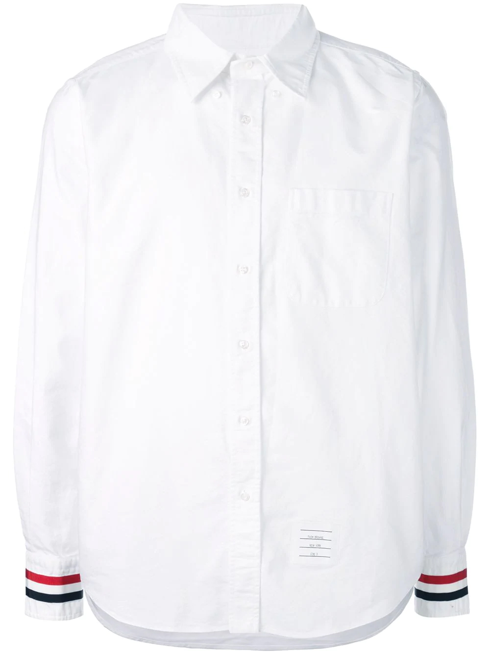 THOM BROWNE OXFORD SHIRT WHITE