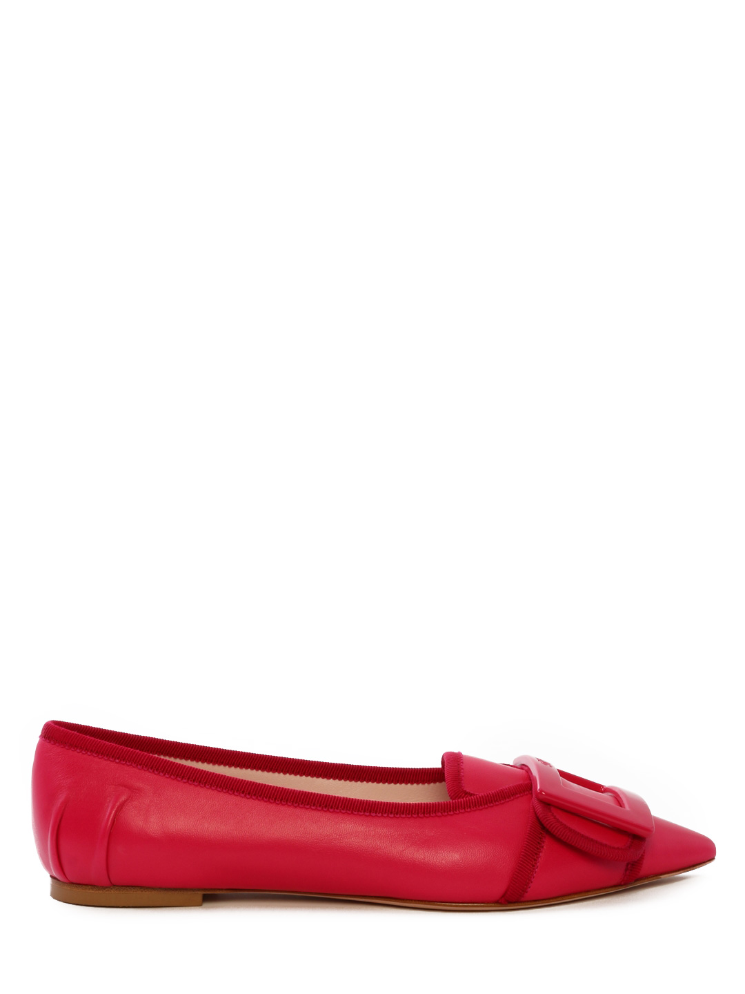 Ballet Shoes Fuchsia Leather