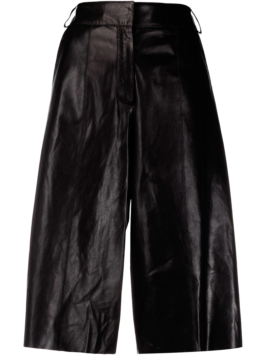 Arma LEATHER TROUSERS BLACK