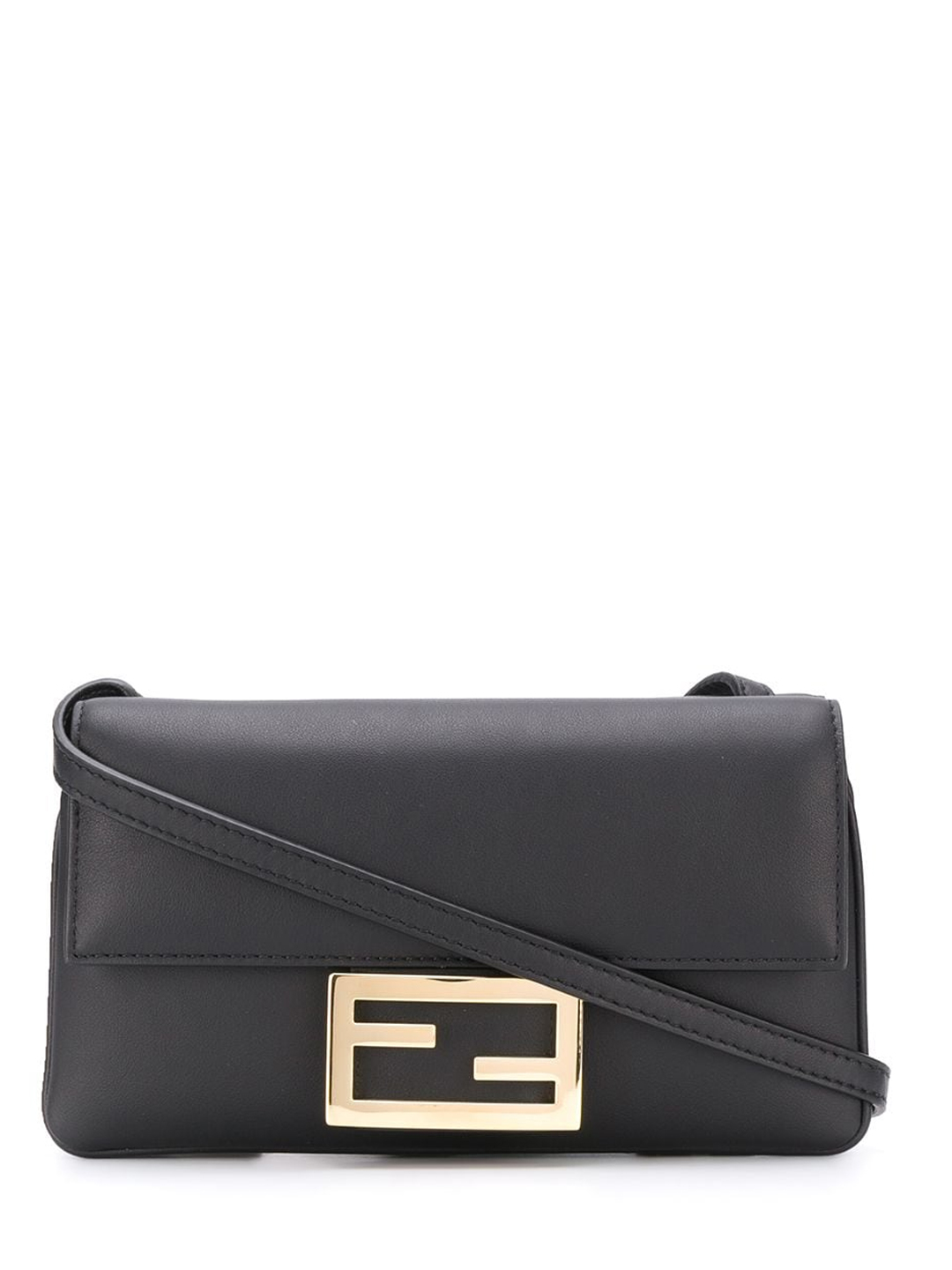 Fendi DUO BAGUETTE BAG BLACK