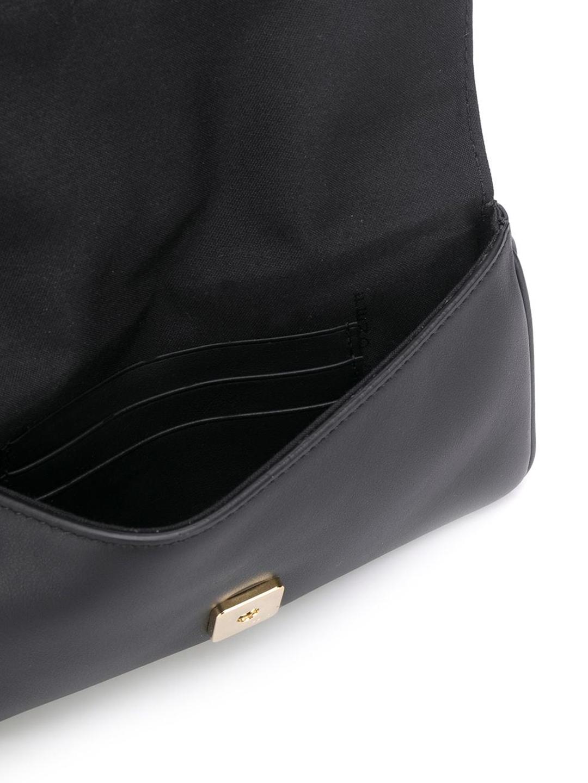 FENDI Leathers DUO BAGUETTE BAG BLACK