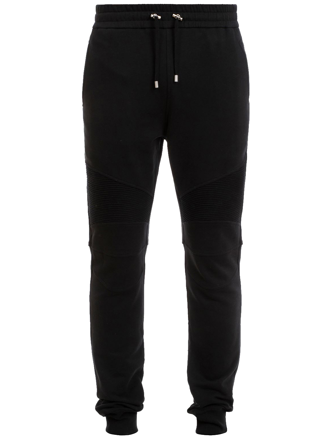 Balmain Cotton Sweatpants Black