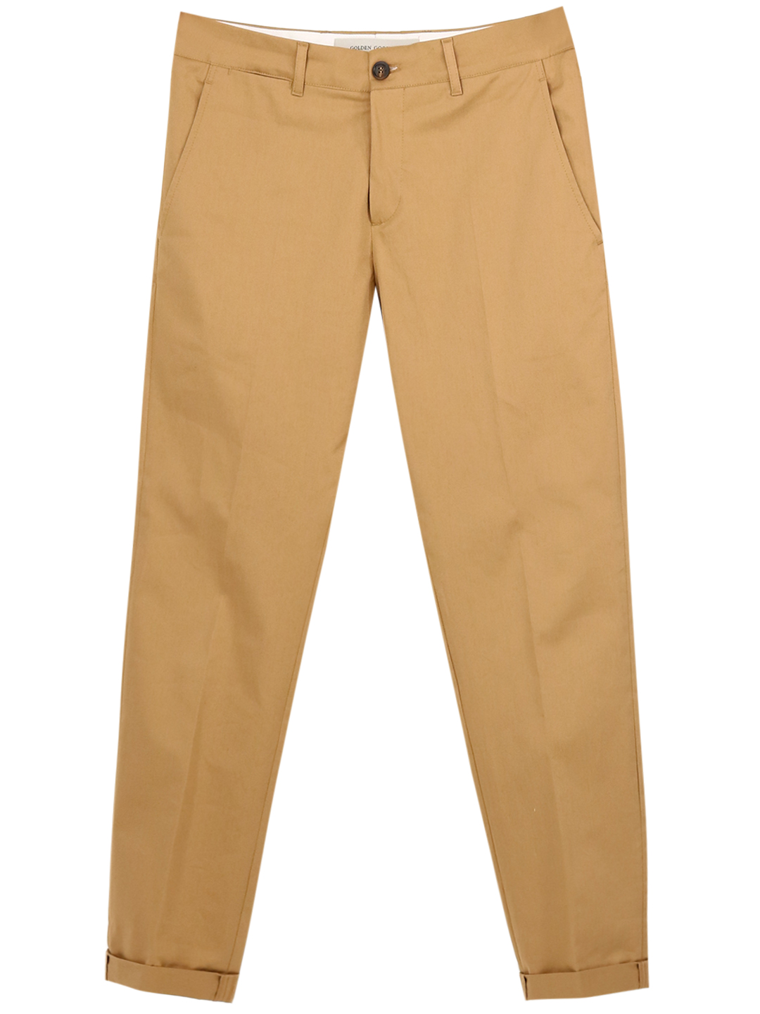 GOLDEN GOOSE CHINO TROUSERS BEIGE
