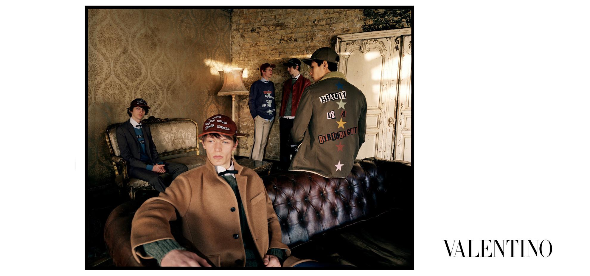 Valentino Man's Clothing Autumn/Winter 2018