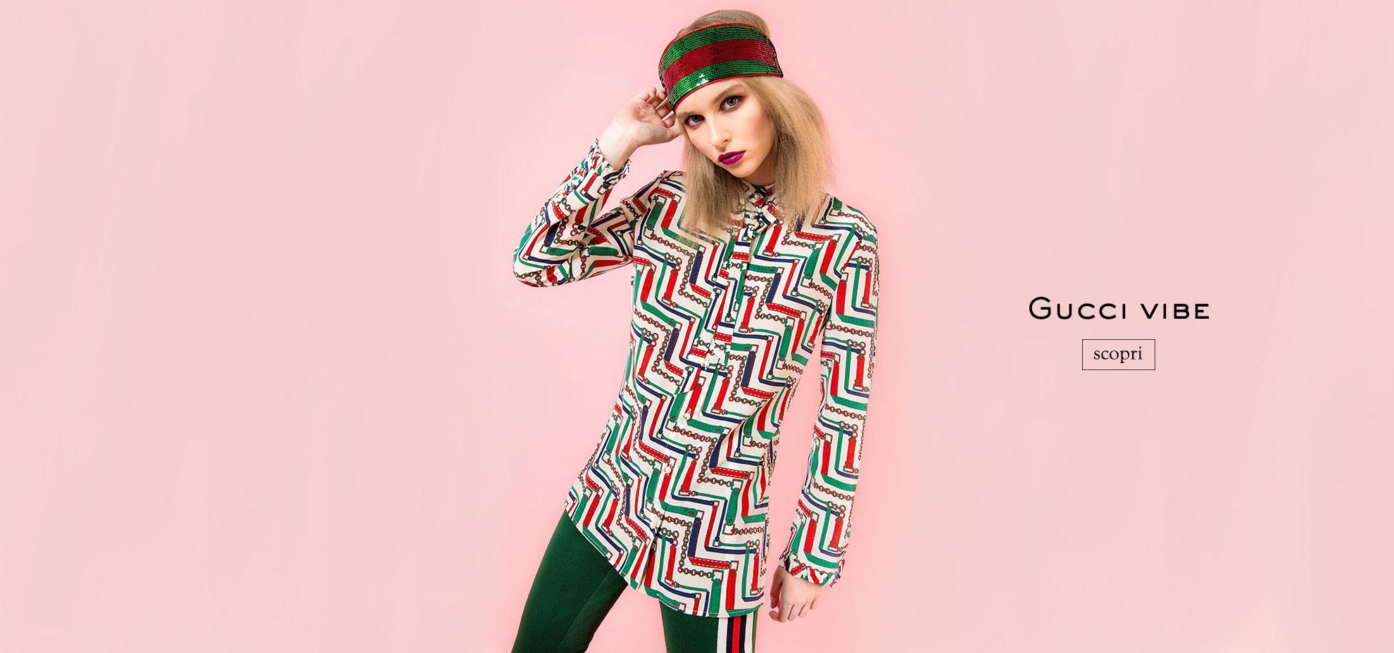 Catalogo Abbigliamento Donna Gucci Primavera/estate 2017