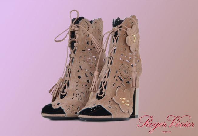 Roger Vivier woman shoes catalog s/s 17