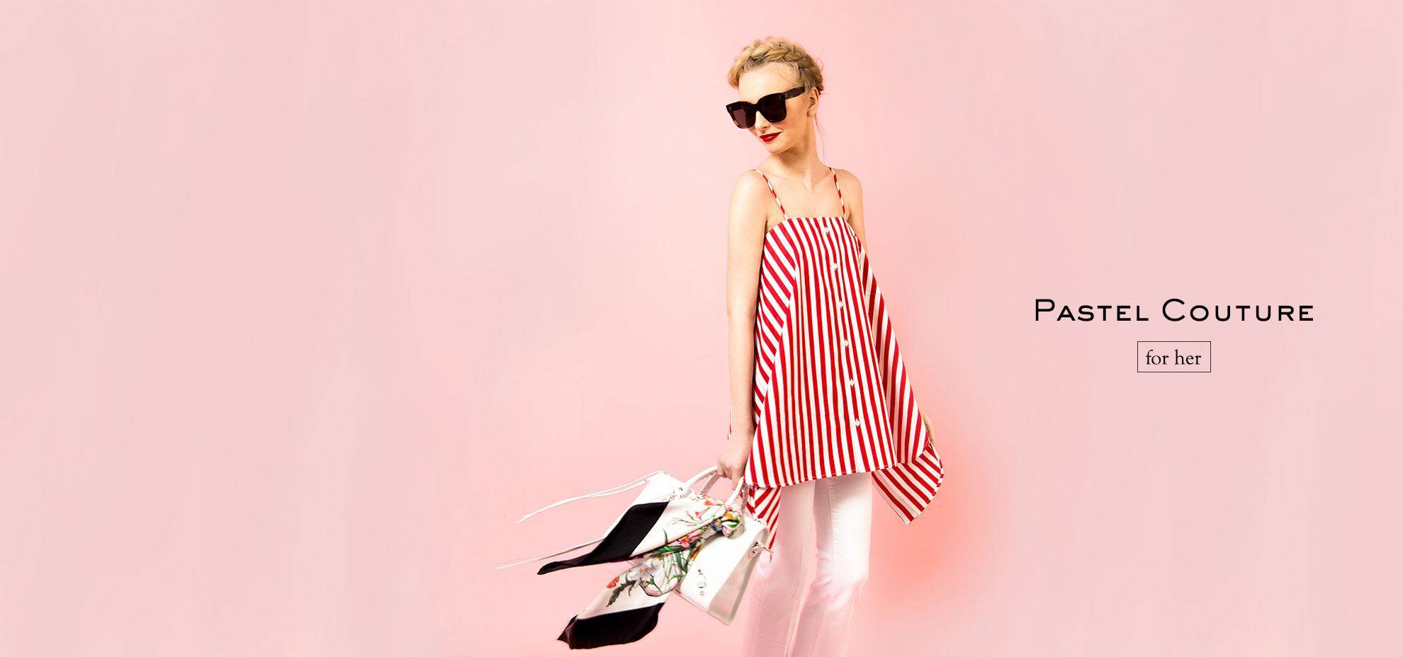Balenciaga Woman's Catalog Spring/Summer 17
