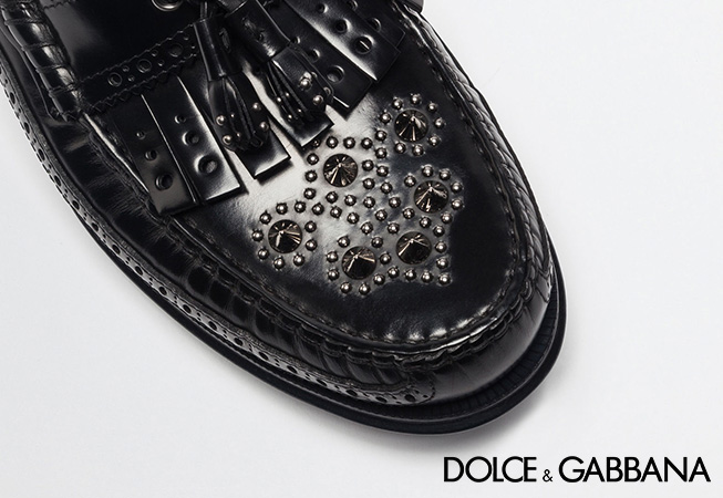 Dolce & Gabbana man shoes catalog Spring/Summer 17