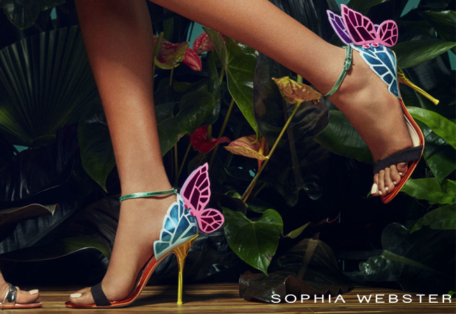 Sophia Webster woman shoes catalog s/s 17