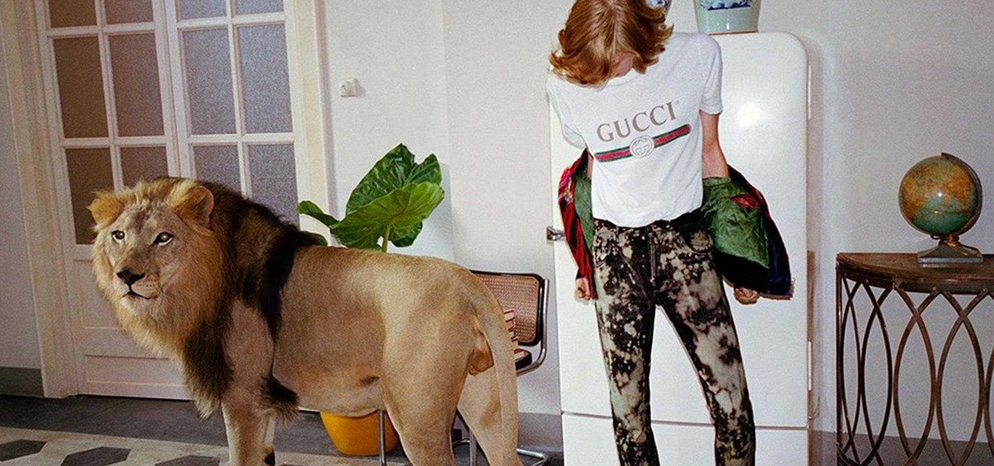 Catalogo Abbigliamento Uomo Gucci Primavera/estate 2017